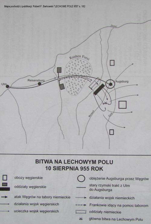 Bitwa nad rzeką Lech 955