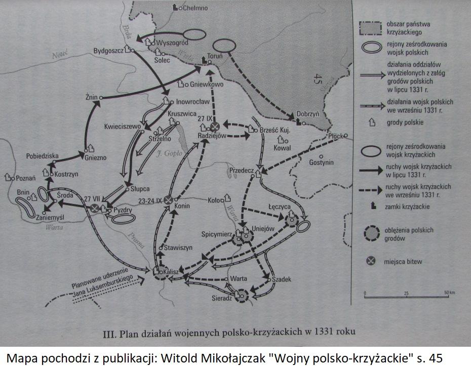 Wojna polsko-krzyżacka w 1331