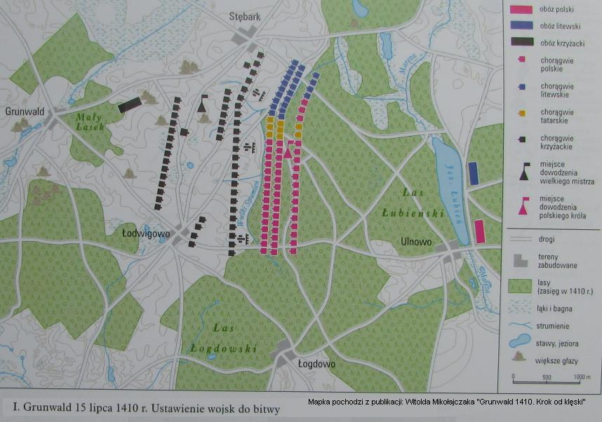 Ustawienie wojsk do bitwy