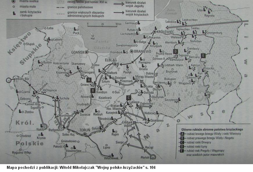 Działania wojenne w 1410 roku