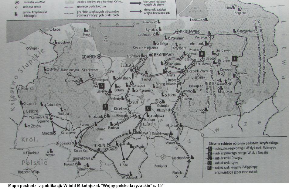 Działania wojenne w 1414 roku