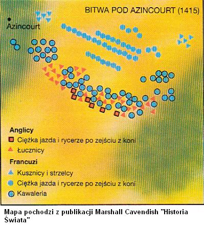 bitwa pod Azincourt 1415